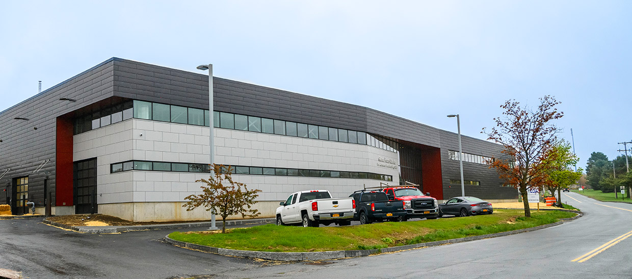 Exterior of the Gene F. Haas Center for Advanced Manufacturing Skills (CAMS)
